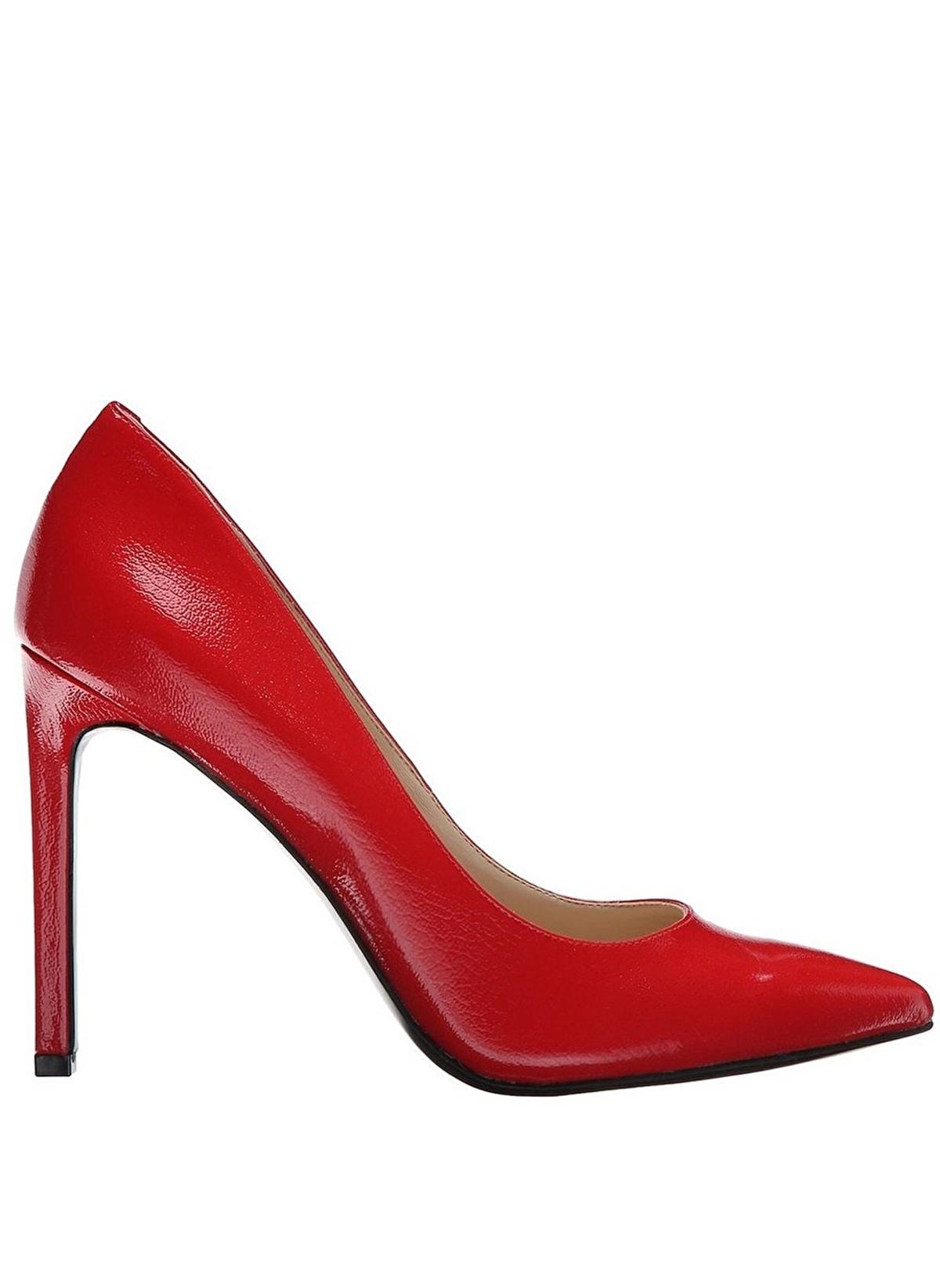 52197b7be161f Nine West Kadın Stiletto Ayakkabı Kırmızı Suni Deri | Morhipo | 17654081